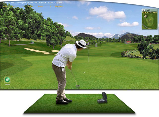 creative golf 3d for gc2 skytrak iss and flightscope. Black Bedroom Furniture Sets. Home Design Ideas
